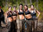 Mud Run Girls Team